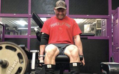 Bodybuilding Day 8- terrible quad pump